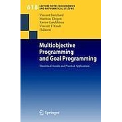 Multiobjective Programming and Goal Programming - Buch