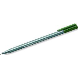 Fineliner triplus 0,3mm Grüne Erde