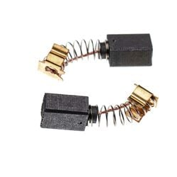 vhbw 2x Carbon Brush Motor Brush 6 x 9 x 12mm Replacement for Makita 191962-4, CB-419 for power tool