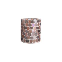 BUTLERS Teelichthalter MARLA Teelichthalter Mosaik Höhe 10cm