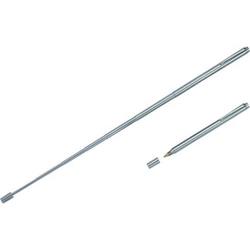 Teleskop-Kugelschreiber 13cm chrom