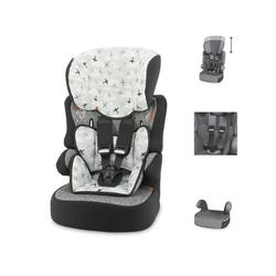 Lorelli Autokindersitz Kindersitz X-Drive Plus Gruppe 1/2/3, 4.25 kg, (9 - 36 kg) 1 bis 12 Jahre, Kissen weiß