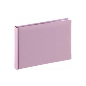 Hama Fine Art Buchalbum 24x17 36 weiße Seiten flieder 2749