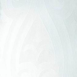 DUNI Lily Elegance Servietten, 1-lagiges Mundtuch, 1/4 Falz, weiß, 1 Karton = 6 x 40 Stück