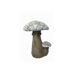 HTI-Line Dekofigur Gartendeko Mosaik Pilz (1 Stück), Gartendeko