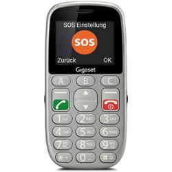 Gigaset GL390 Senioren-Handy Silber