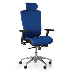 Bürostuhl lester f, blau