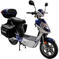 Rolektro eco-City 20 V.2 Plus 500 Watt 20 km/h blau/silber inkl.Topcase