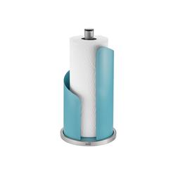 GEFU Küchenrollenhalter Küchenrollenhalter CURVE, (1-St) blau