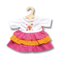 Heless Puppenkleidung Puppenkleid Pinky, Gr. 35-45 cm