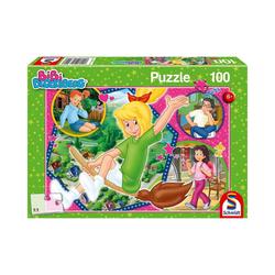Schmidt Spiele Puzzle Puzzle Bibi Blocksberg Hex-hex!, 100 Teile, Puzzleteile