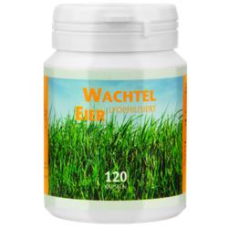 WACHTELEIER lyophilisiert Kapseln 120 St