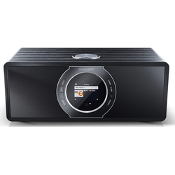 Sharp Sharp DR-I470, black Internet-Radio (Digitalradio (DAB) FM-Tuner mit RDS Webradio)