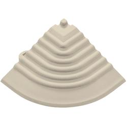 florco® Klickfliesen-Eckleiste, Eckteil grau, 30 cm