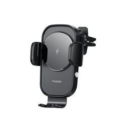 mcdodo Mcdodo Auto-Halterung Qi Wireless Charger für Lüftung Handy Halterung drahtloses laden für Handys schwarz Wireless Charger