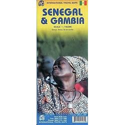Senegal & Gambia 1 : 740 000 / Gambia & Senegal 1 : 340 000 - Buch