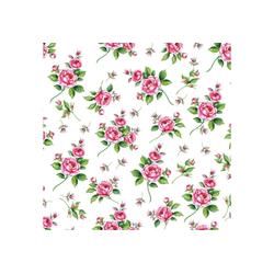 Ambiente Papierserviette Romantic Roses, (20 St), 33 cm x 33 cm