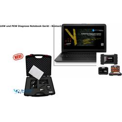 LKW und PKW Diagnose Notebook Gerät - Brotos®