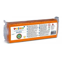 Primo Knete Plastilin Knete im Block, Spiel-knete 550 g, in versch. Farben orange