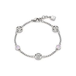 LEONARDO Armband Larina, 019566, mit Kristallglas - mit Perlmutt