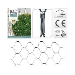 Koopmann Lichterkette Lichternetz mit 144 LED's, warmweiß, Ø120 cm