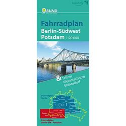 Fahrradplan Berlin-Südwest  Potsdam. Tilo Schütz  - Buch