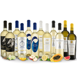Italienisches Weißwein Topseller Probierpaket