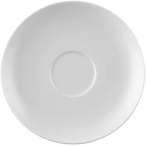 Rosenthal Moon weiß Suppen Untertasse 16,5 cm