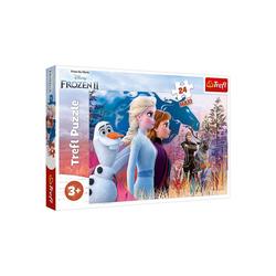 Trefl Puzzle Maxi-Puzzle - Magische Reise - Disney Frozen 2, 24, Puzzleteile