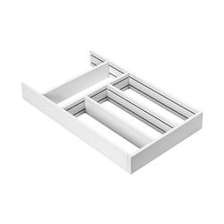 Beslag Design Flex Basic Besteckschublade 278/500 - Weiß