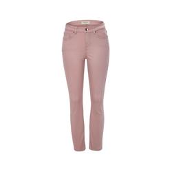 Slimfit-Jeans, roséfarben
