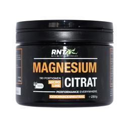 (5.36 EUR/100g) RNT Magnesium Citrat (250g)   Geschmacksneutral