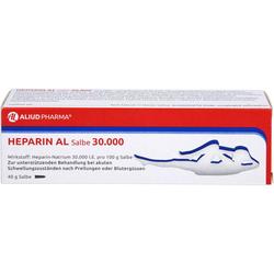 HEPARIN AL Salbe 30.000 40 g
