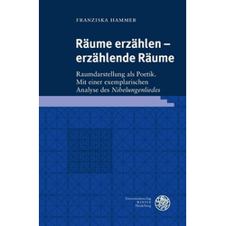 Räume erzählen - erzählende Räume als Buch von Franziska Hammer