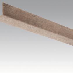 Meister Sockelleisten Winkelleisten Eiche 4046 - 2380 x 33 x 3,5 mm -