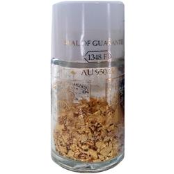 Gigarde Blattgoldflocken - essbares Gold (Crumbs) 23 Karat 125 mg