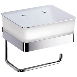 Giese Toilettenpapierhalter WC-Duo, für Feuchtpapier und Papierrollen, BxH: 15x13,5 cm