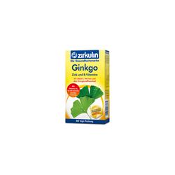 ZIRKULIN Ginkgo Zink und B-Vitamine Filmtabletten
