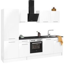 wiho Küchen Küchenzeile Ela, ohne E-Geräte, Breite 280 cm