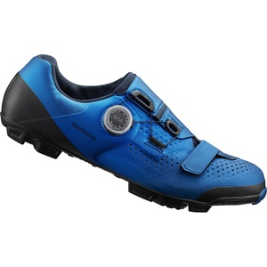 Shimano SH-XC5B Cross Country Schuhe SPD blue (B01) 48