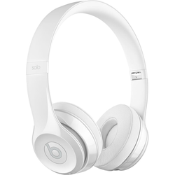 BEATS Solo3 Wireless Weiss glänzend - On-Ear Wireless Kopfhörer (Bluetooth, Akku für bis zu 40 Std., Mikrofon)