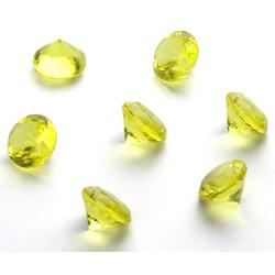 Deko Diamanten Dekosteine Tischdeko Dekoration 20mm - gelb