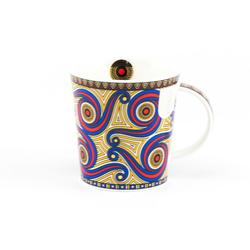 Dunoon Becher, Dunoon Becher Teetasse Kaffeetasse Lomond Masai gelb
