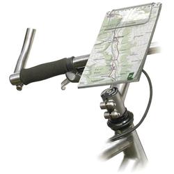 KlickFix Mini Map 2 Fahrrad-Kartenhalter grau Rad-Ausrüstung Radsport Sportarten Gerätehalterung