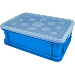 Gies Aufbewahrungsbox (Set, 4 Stück) blau Kleinmöbel Aufbewahrungsboxen