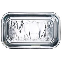 Luminarc Butterdose Helper, Glas, Butterdose Kuh 10.5x17cm Glas transparent 1 Stück 10.5 cm x 17 cm x 7.5 cm