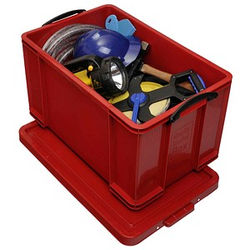Really Useful Box Aufbewahrungsbox 84,0 l rot 71,0 x 44,0 x 38,0 cm
