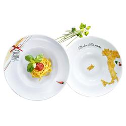 Retsch Arzberg Pastateller Italia, (6 Stück), Porzellan