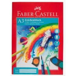 Zeichenblock A3 FSC-Mix Faber