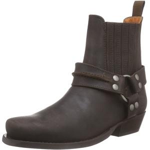 Dockers by Gerli Herren 170102-007020 Cowboy stiefel, Braun (Cafe 020), 46 EU